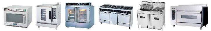 スチームコンベクションオーブン、ベーカリーオーブン、ガスグリドル、電気フライヤーなどオーブン・電子レンジ等の買取品目