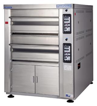 ベーカリー機器の買取例:デッキオーブンの買取(マルゼンベーカリーコンベクションプリンスオーブン・デッキストッカー付)